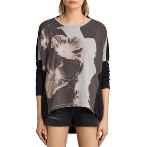 Allsaints Reality Wave Tee Long Sleeve M